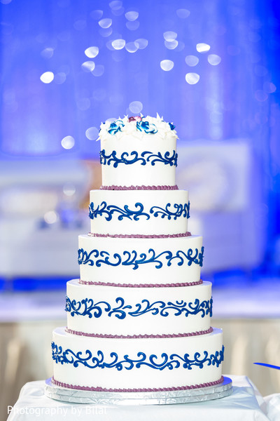 Wedding cake in Princeton, NJ Indian Wedding by Photography by Bilal