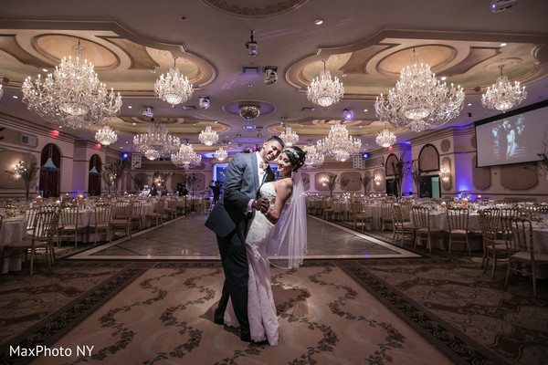 Reception in Woodside, NY Indian Weeding by MaxPhoto NY