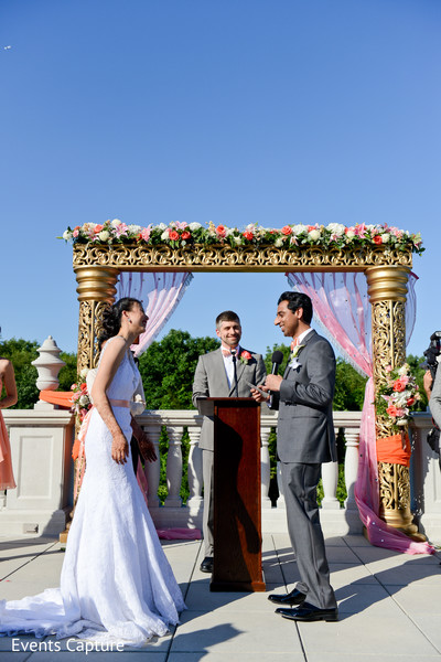 Catholic wedding ceremony in Somerset, NJ Indian Fusion Wedding by Events Capture
