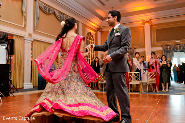 Wedding reception in Somerset, NJ Indian Fusion Wedding by Events Capture