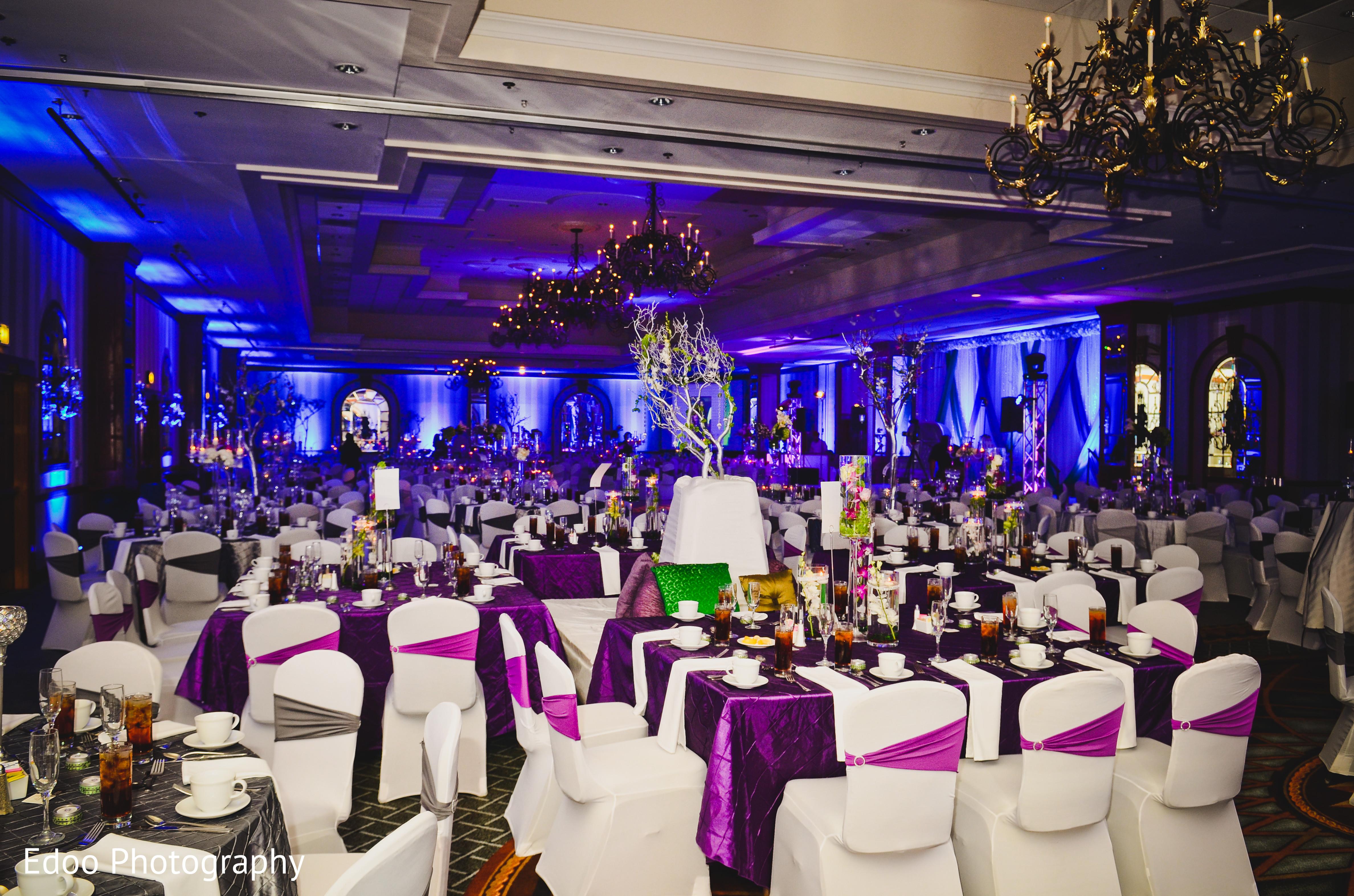 Reception Decor In San Antonio TX Indian Wedding By Edoo Photography