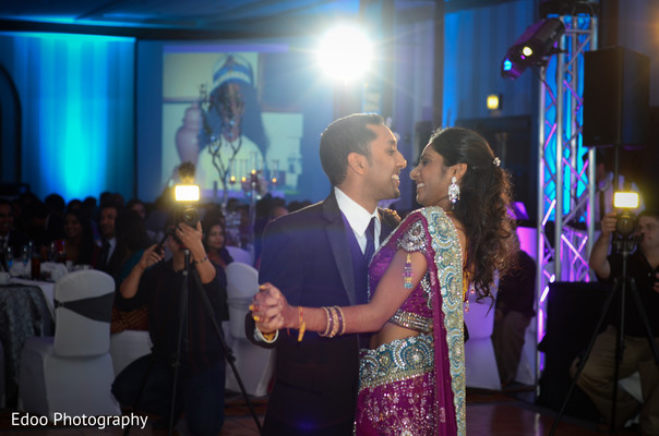 Reception in San Antonio, TX Indian Wedding by Edoo Photography