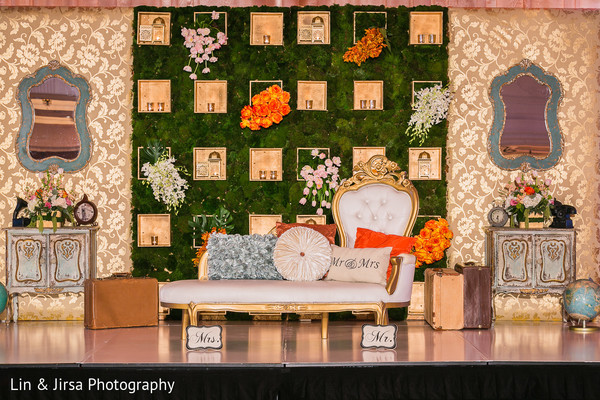 Floral & Decor in Yorba Linda, CA Indian Wedding by Lin & Jirsa Photography