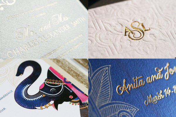 Wedding stationery in Stationery 101 with Atelier Azure