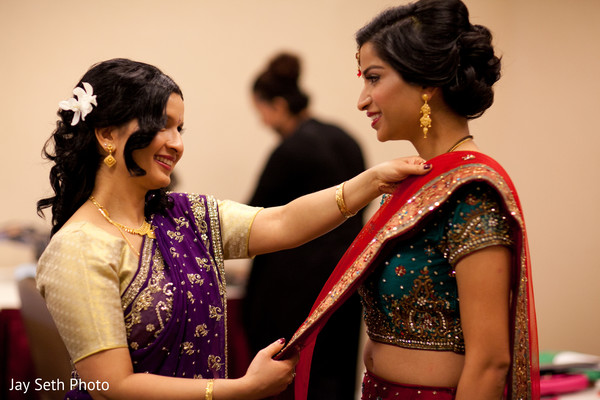 Mehndi design in Parisppany, NJ Indian Wedding by Jay Seth Photography