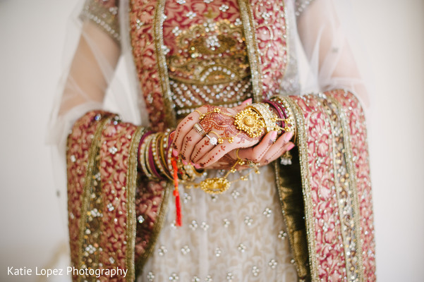 Bridal portraits in Miami, FL Indian Wedding by Katie Lopez Photography