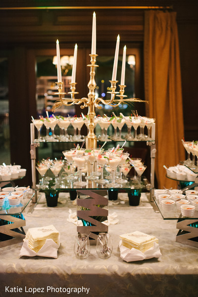 Cakes & Treats in Miami, FL Indian Wedding by Katie Lopez Photography