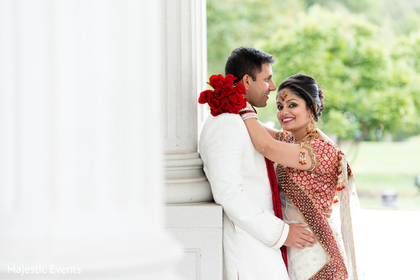 Ceremony in Somerset, NJ Indian Wedding by Majestic Events