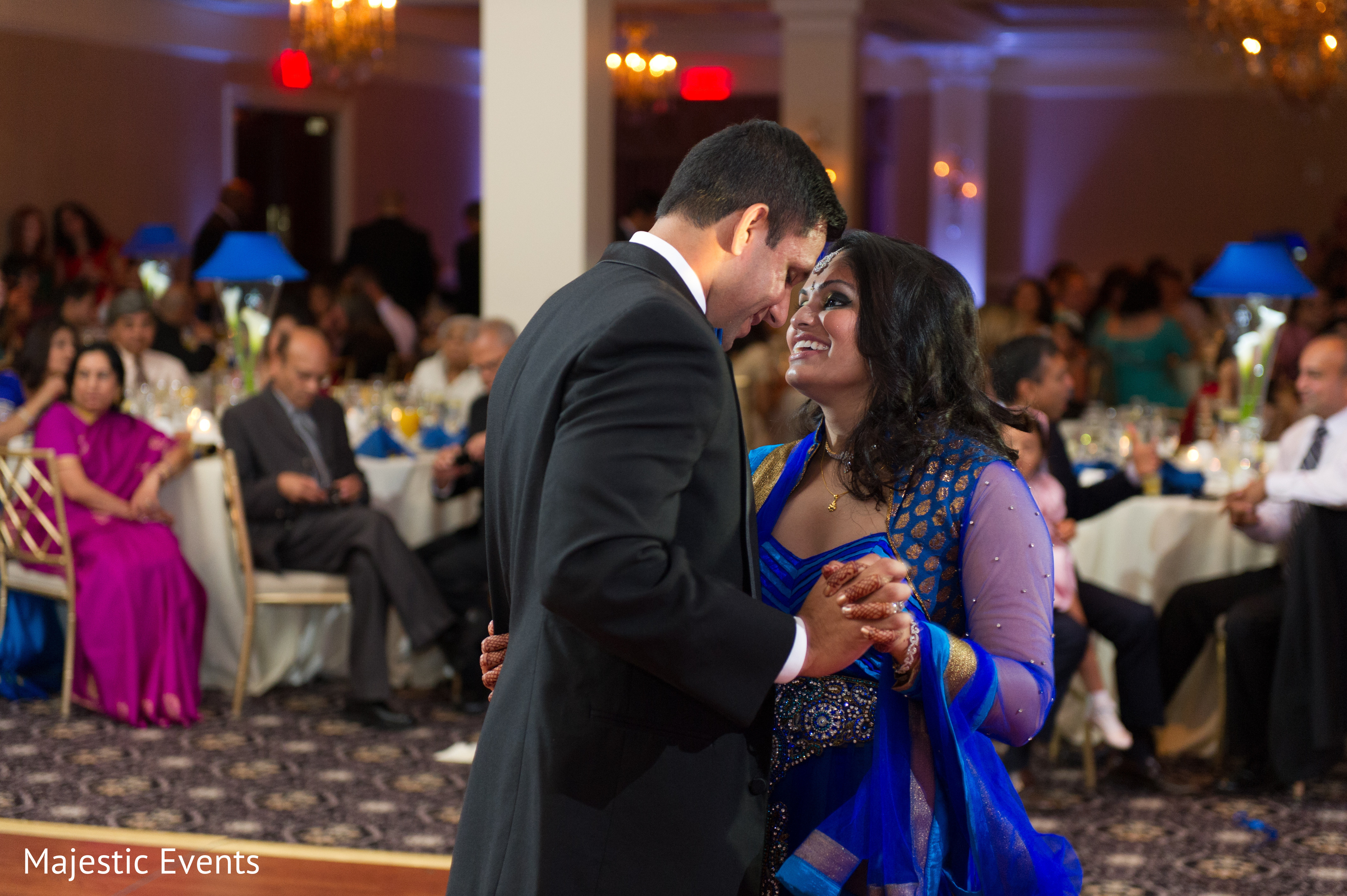 wedding ideas inspiration reception in somerset nj indian wedding by majestic 27986