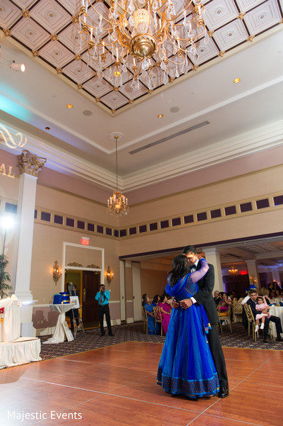 Reception in Somerset, NJ Indian Wedding by Majestic Events