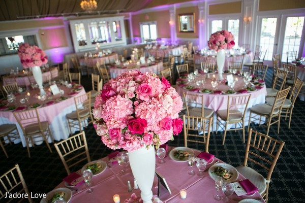 Floral & Decor in Island Park, NY Indian Wedding by J'adore Love Photo & Cinema