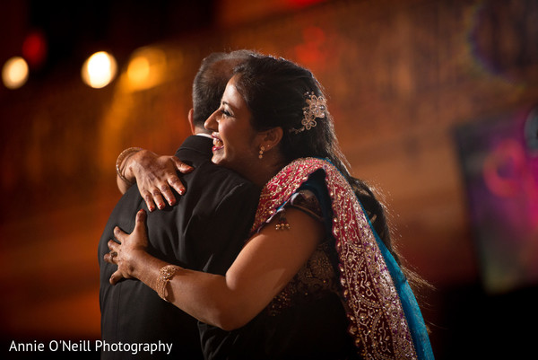 Reception in Pittsburg, PA Indian Wedding by Annie O'Neill Photography