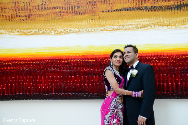 Reception portraits in Hanover, NJ Indian Wedding by Events Capture