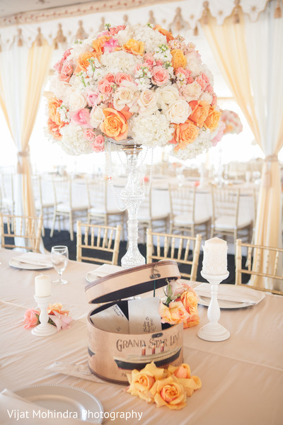 Floral & Decor in Fresno, CA Indian Wedding by Ethnic Essence
