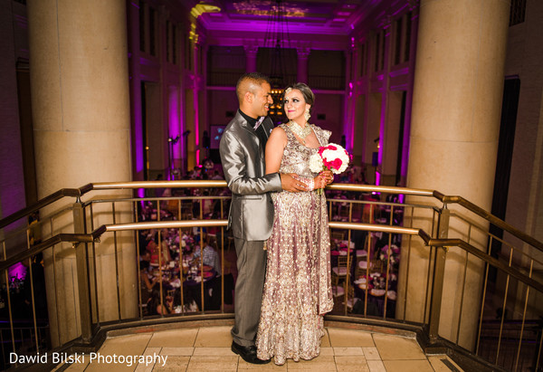 Reception in San Francisco, CA Indian Wedding by Dawid Bilski Photography