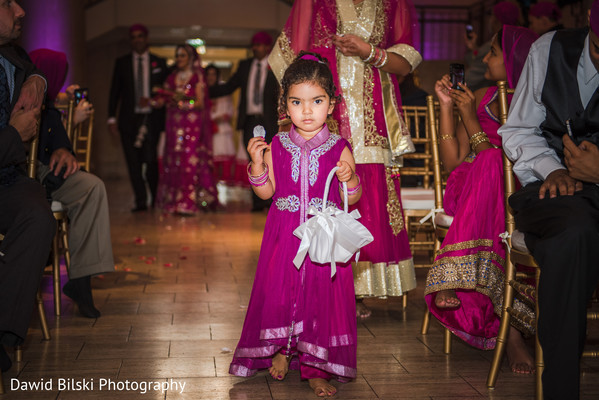 Ceremony in San Francisco, CA Indian Wedding by Dawid Bilski Photography