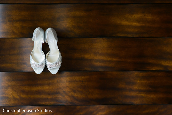 Shoes in Arlington, VA Indian Wedding by ChristopherJason Studios