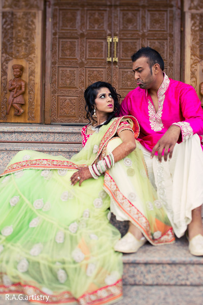 Pre-Wedding Portraits in Oakbrook Terrace, Illinois Indian Wedding by R.A.G Artistry
