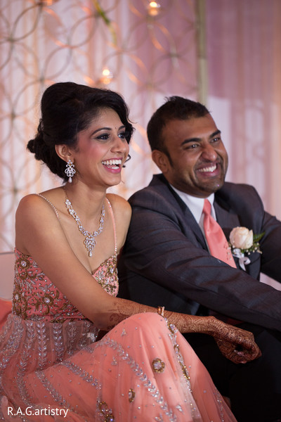 Reception in Oakbrook Terrace, Illinois Indian Wedding by R.A.G Artistry