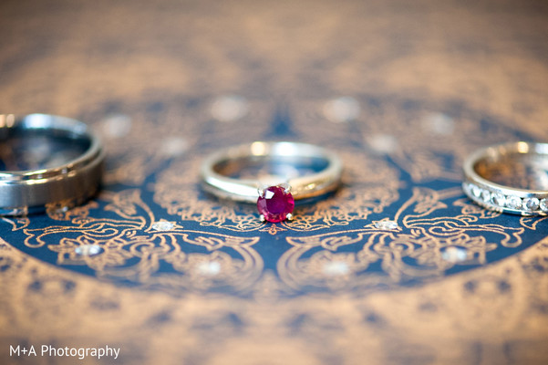 Jewelry in Falls Church, Virginia Indian Wedding by M+A Photography