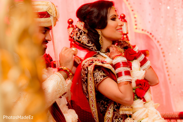 Ceremony in Long Island, NY Indian Wedding by PhotosMadeEz