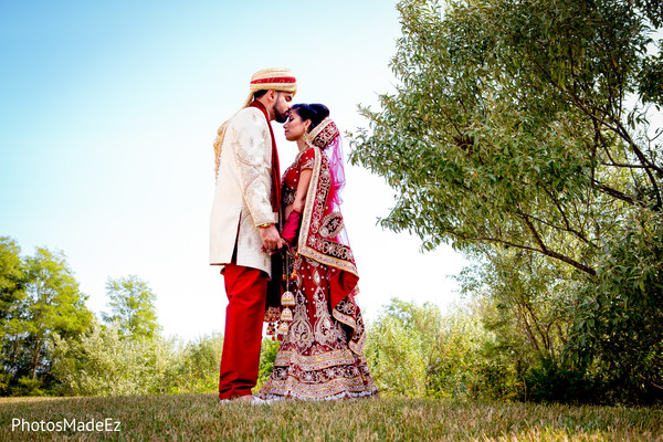 Wedding portraits in Long Island, NY Indian Wedding by PhotosMadeEz