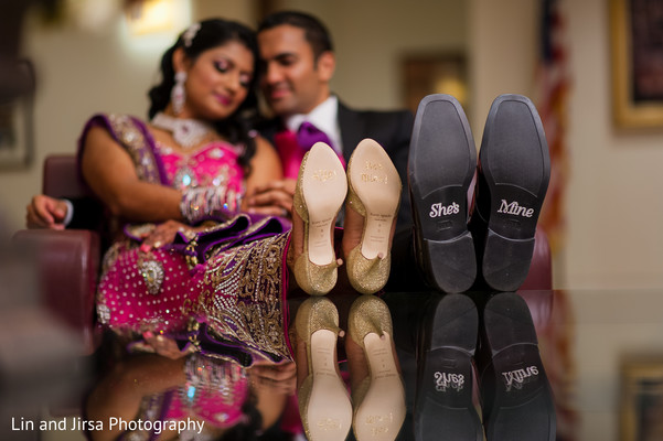 Reception in Yorba Linda, CA Indian Wedding by Lin and Jirsa Photography