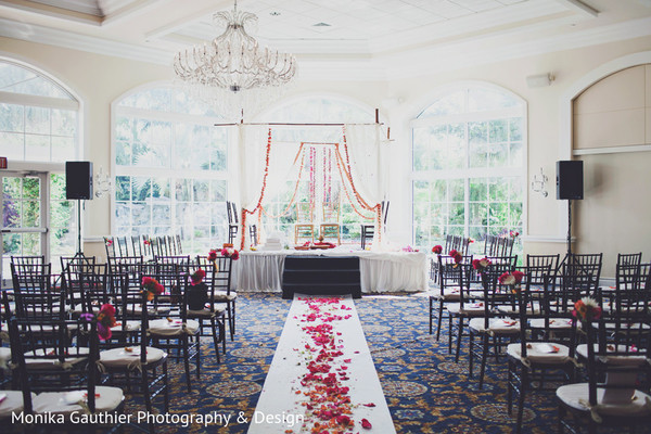 Ceremony in Delray Beach, FL Indian Wedding by Monika Gauthier Photography & Design