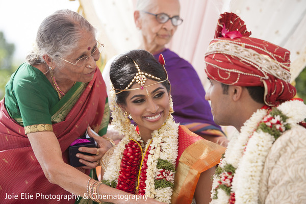 Ceremony in Somerset, NJ Indian Wedding by Joie Elie Photography & Cinematography
