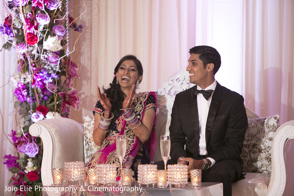 Reception in Somerset, NJ Indian Wedding by Joie Elie Photography & Cinematography