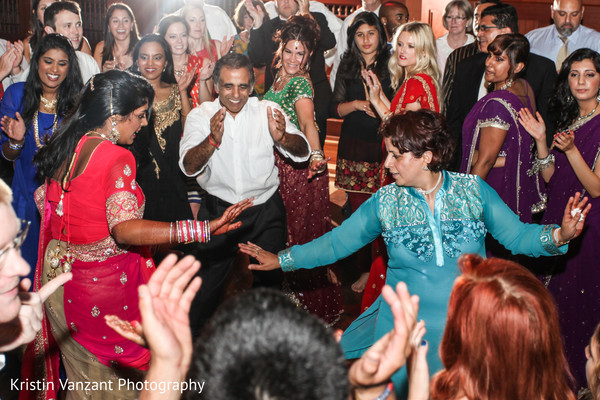Reception in Nashville, TN Indian Wedding by Kristin Vanzant Photography