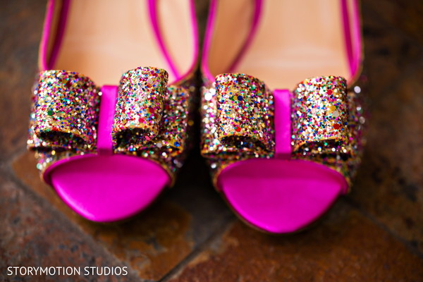 Shoes in Potomac, MD Sikh Wedding by StoryMotion Studios
