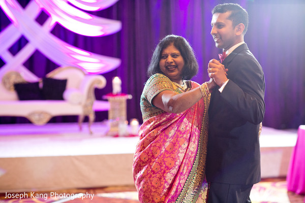 Reception in Chicago, IL Indian Wedding by Joseph Kang Photography
