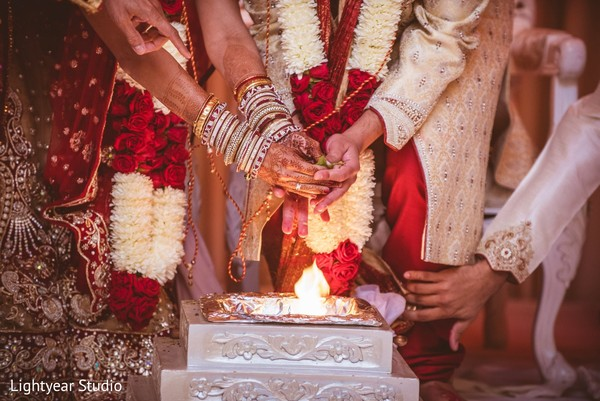 Ceremony in Parsippany, NJ Indian Wedding by Lightyear Studio