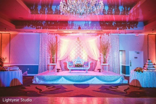 Floral & Decor in Parsippany, NJ Indian Wedding by Lightyear Studio