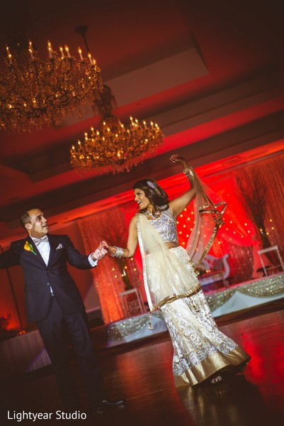 Reception in Parsippany, NJ Indian Wedding by Lightyear Studio