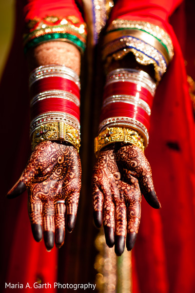Bridal portraits in Alexandria, VA Indian Wedding by Maria A. Garth Photography
