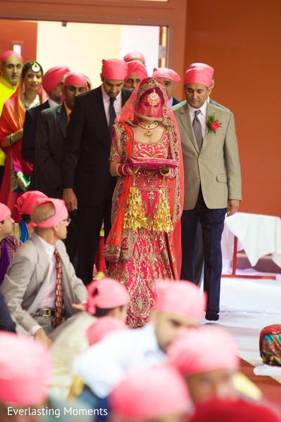 Ceremony in Bloomfield, MI Sikh Wedding by Everlasting Moments