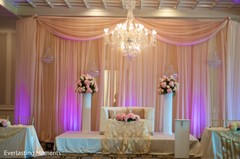 The decor at the reception.