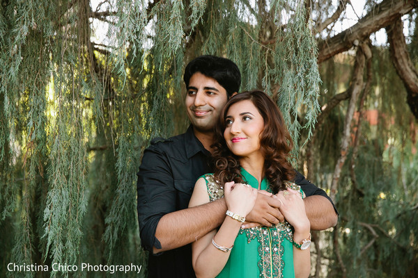 Engagement Portraits in Ventura, CA Indian Engagement by Christina Chico Photography