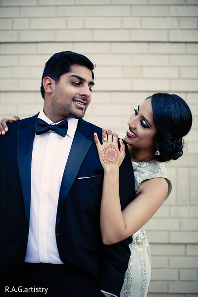 Reception in Athens, GA Indian Wedding by R.A.G. Artistry