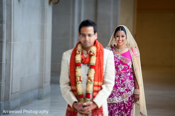Portraits in San Francisco, CA Indian Wedding by Arrowood Photography