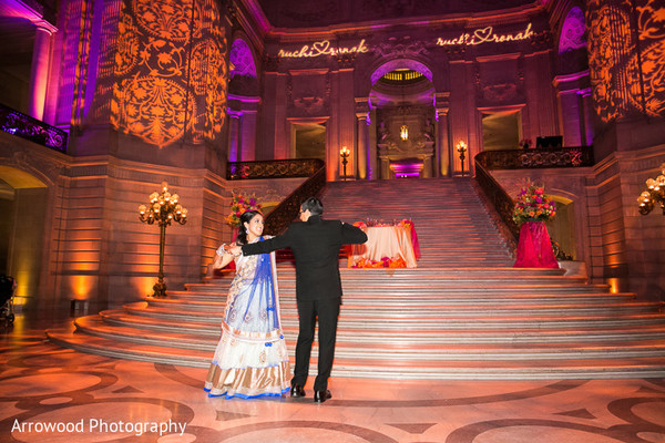 Receoption in San Francisco, CA Indian Wedding by Arrowood Photography