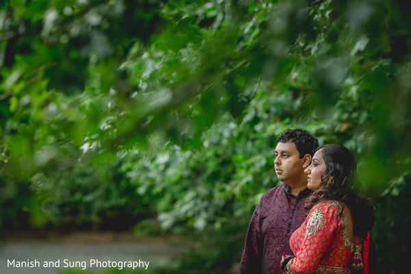 Pre-wedding portraits in Pearl River, NY Indian Wedding by Manish and Sung Photography