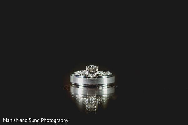 Bridal jewelry in Pearl River, NY Indian Wedding by Manish and Sung Photography