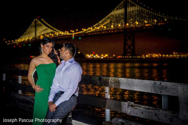 Engagement in San Francisco, CA Indian Engagement by Joseph Pascua Photography