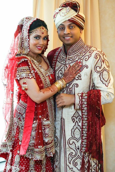 Reception in Phoenix, AZ Indian Wedding by Saiaf Films