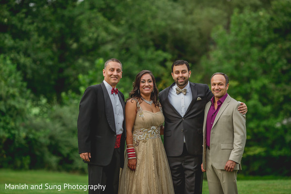 Photo in Pearl River, NY Indian Wedding by Manish and Sung Photography