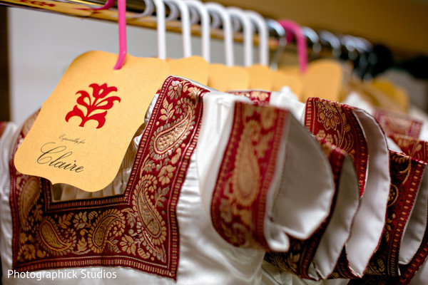 Getting ready in Falls Church, VA Indian Fusion Wedding by Photographick Studios