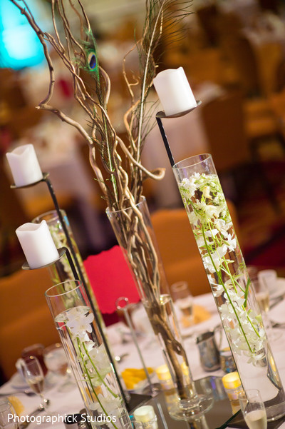 Floral & Decor in Falls Church, VA Indian Fusion Wedding by Photographick Studios